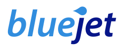 Bluejet logo